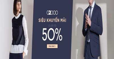 G2000 - Siêu khuyến mại tới 50%