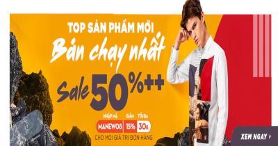 Top các sản phẩm mới bán chạy nhất Sale 50% ++